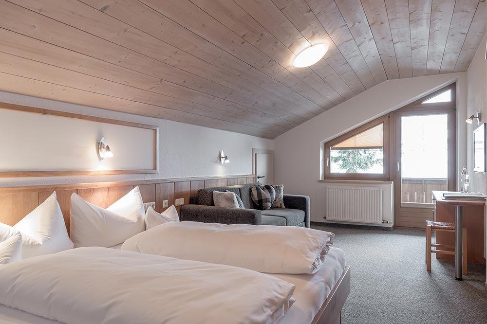 Familienzimmer Landhaus Sepp Santer